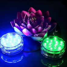 4W Waterproof Plastic Colorful RGB SMD3528 LED Fish Tank Decoration Aquarium Light With Remote Controller