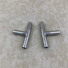 2pcs/lot Stainless Steel Hose Barb 5/16