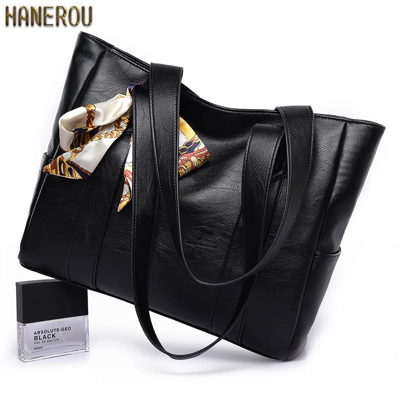New Autumn Famous Bags Fashion PU Leather Women Shoulder Bag High Quality Ladies Handbags2018 Large Capacity Tote Bag Handtasche herald fashion women handbags large capacity tote bag high quality pu leather shoulder bag causal ladies crossbady bag