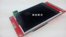 Бесплатная Доставка 5 шт./лот 2.4 inch tft ЖК-Модули 240*320 SPI ILI9341 С SD разъем no touch функция 4 IO ТОЛЬКО
