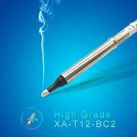QUICKO XA High-grade T12-BC2 soldering Tip for 951 952 HAKKO T12 soldering station 7s melt tin welding tools