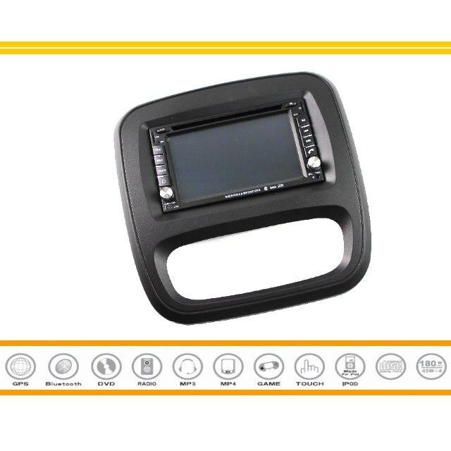 Para Renault Trafic X82 2014 2015  Coche de Radio CD Reproductor de DVD GPS de N