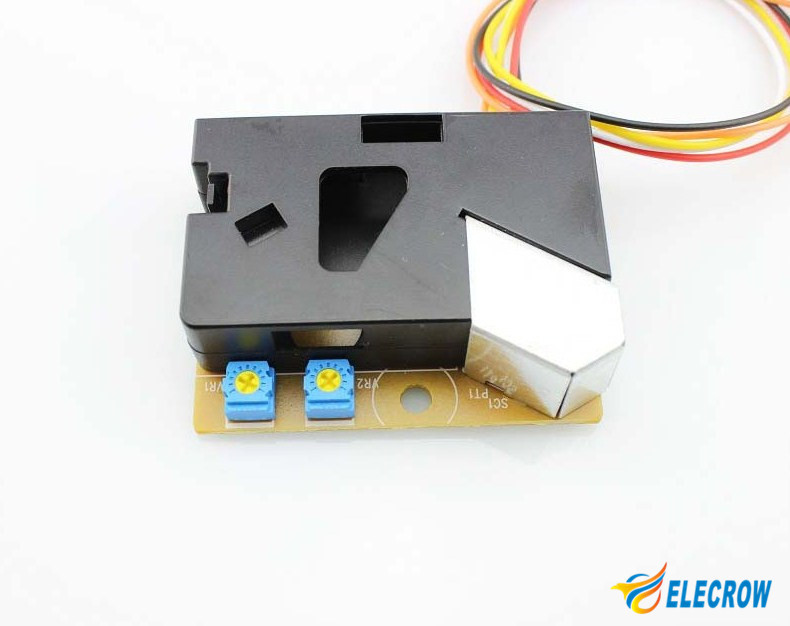 Elecrow Dust Sensor DSM501A PM2 5 Detection Dector Dust Sensor Detects for  Arduino Electronic Modules DIY Kit