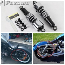 Chrome Steel Front and Rear Lowering Slammer Drop Kit Suspension for Harley Touring FLT FLHT FLTR