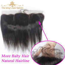 Lace Frontal Closure 13*4 Ear to Ear Lace Frontal With Baby Hair Brazilian Virgin Hair Straight Lace Frontal Brazilian Straight