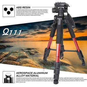 Image 3 - ZOMEI Q111 Professional Portable Travel Aluminum Camera Tripod&Pan Head for SLR DSLR Digital Camera Three color
