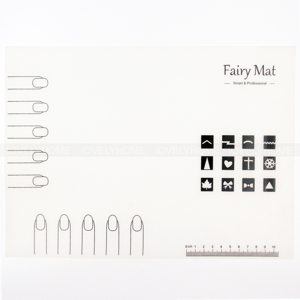 nail art mat template