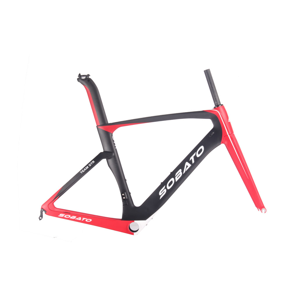2017 Latest Model T700 carbon fiber frame aero road bike frame, Aero road racing carbon fiber frame RAC