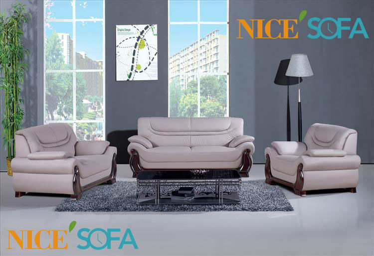leather sofa set 3 2 1 seat a602 in living room sofas from furniture on