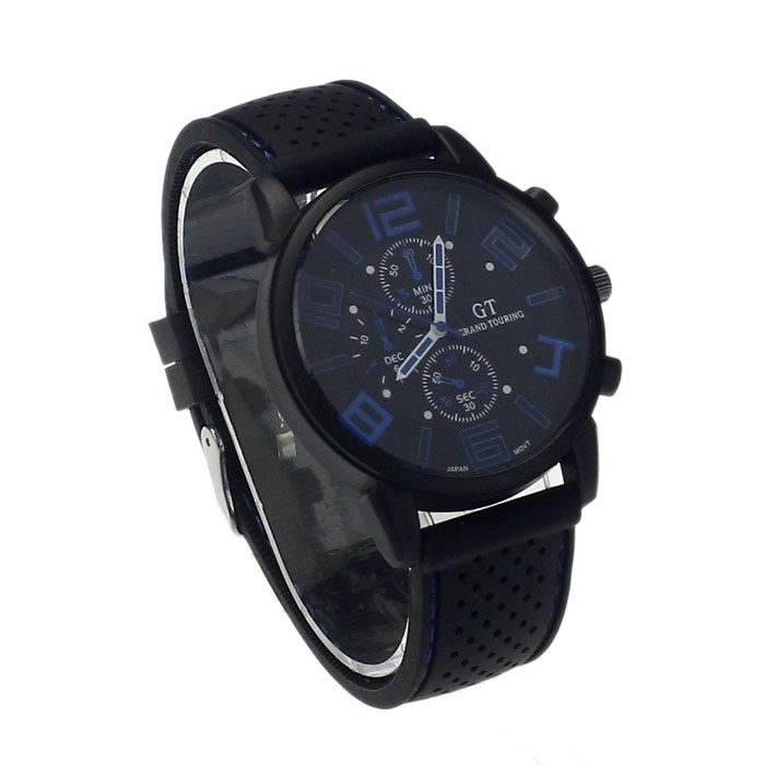 Top Luxury Brand Men Sport Silicone Mesh Strap Business Watches Mens Quartz Date Clock Men Wrist Watch Relogio Masculino Vivid And Great In Style Men's Watches