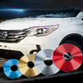 8m car chrome protection wheel Rim Grille clips, light frame decoration Collision strips For BMW E30 E34 E36 E39 E46 X5 E53 E60