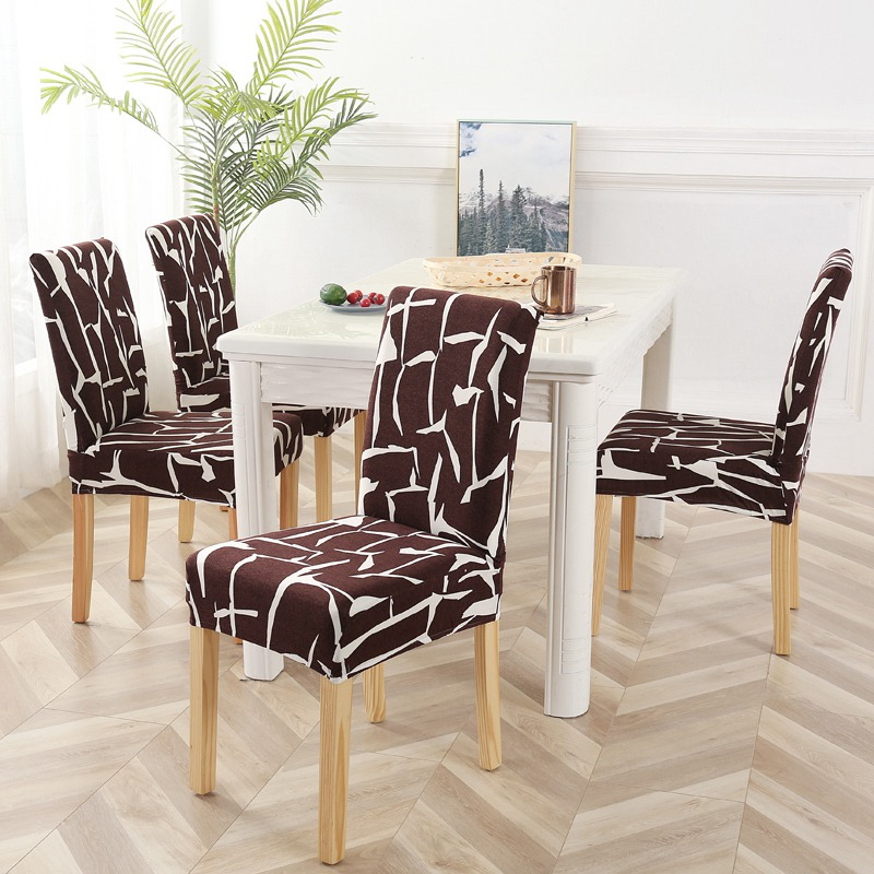 4 6 Pcs Anti Dirty Dining Chair Cover