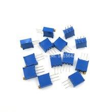 Новый 20 шт./лот 3296 Вт 100R Ом 101 Отделка потенциометр Высокоточный 3296 Переменные Резисторы оптовая продажа электронных