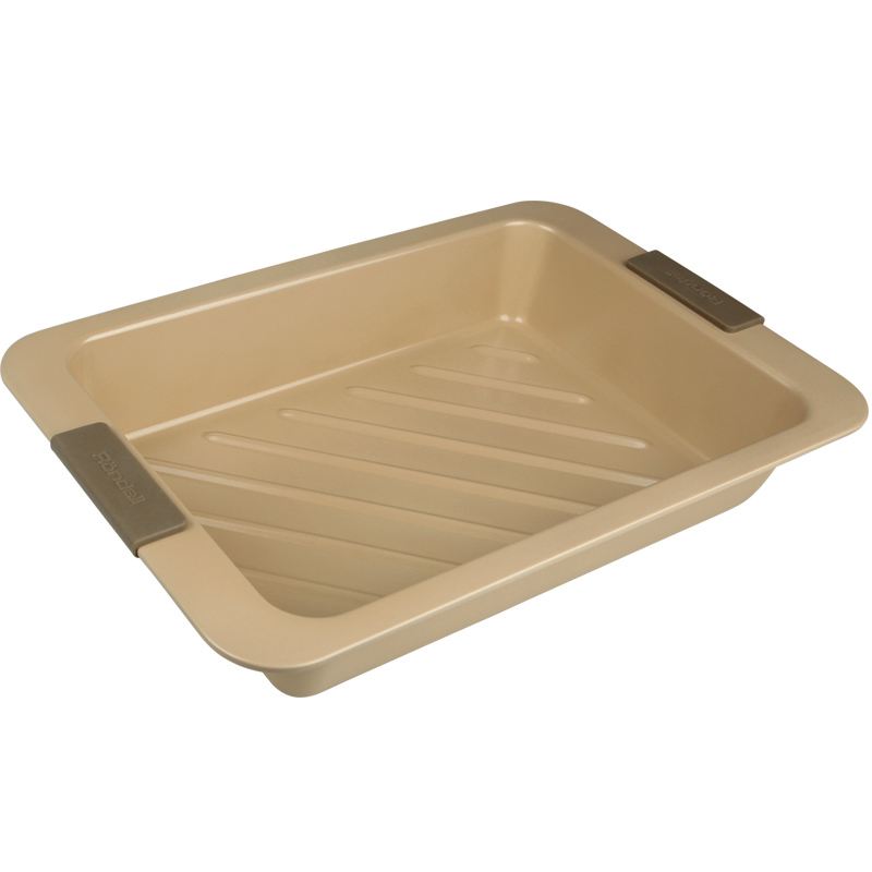 лучшая цена Form for baking Rondell Champagne RDF-417 (Size 40,5x27 cm non-stick coating)