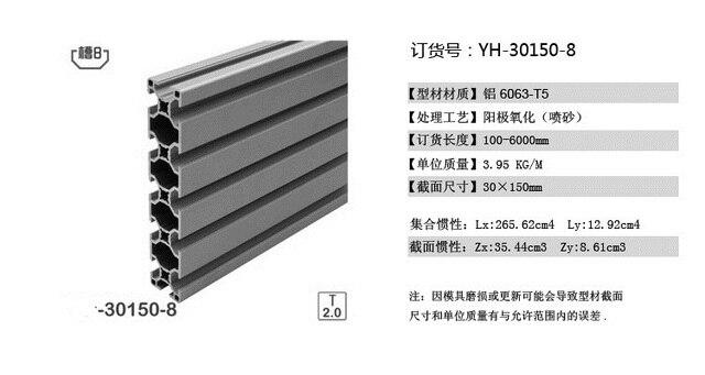 6pcs L1000mm 30150L aluminium profile extrusion door window frame Equipment  sc 1 st  AliExpress.com & 6pcs L1000mm 30150L aluminium profile extrusion door window frame ...