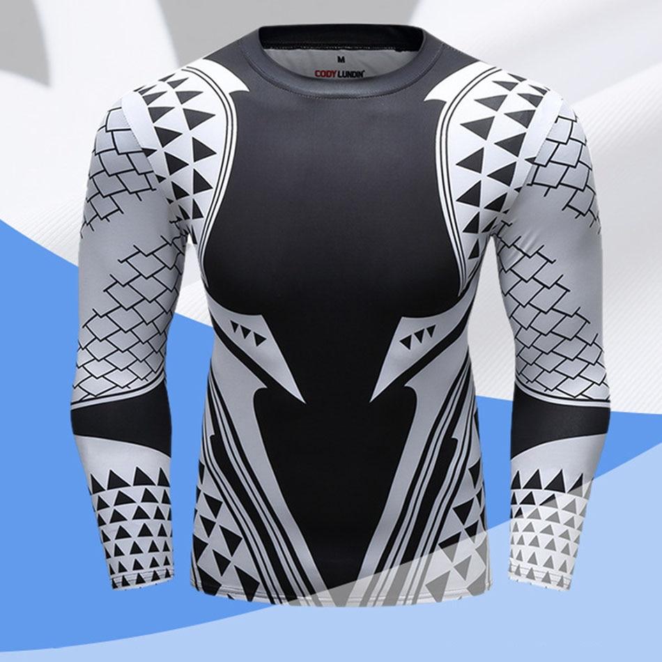 Mma Rashguard Long Sleeve T Shirt Sublimated Print Breathable Boxing Jerseys Muay Thai Gentle Boxeo BJJ JiuJitsu Training Shirts