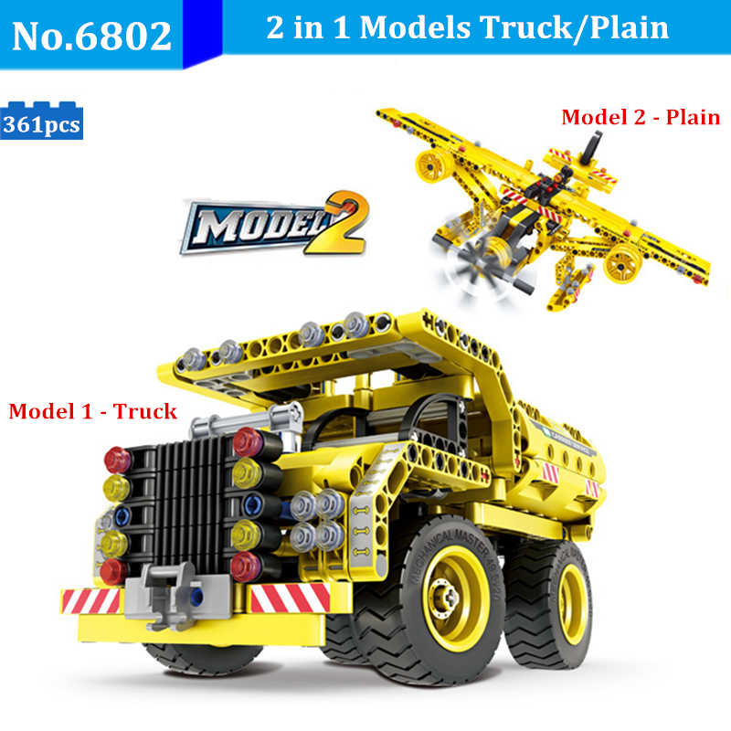 City Construction Technic Mining Truck Toys Compatible Legoed Technic Building Blocks Set Bricks Collect Gifts Toys For Children