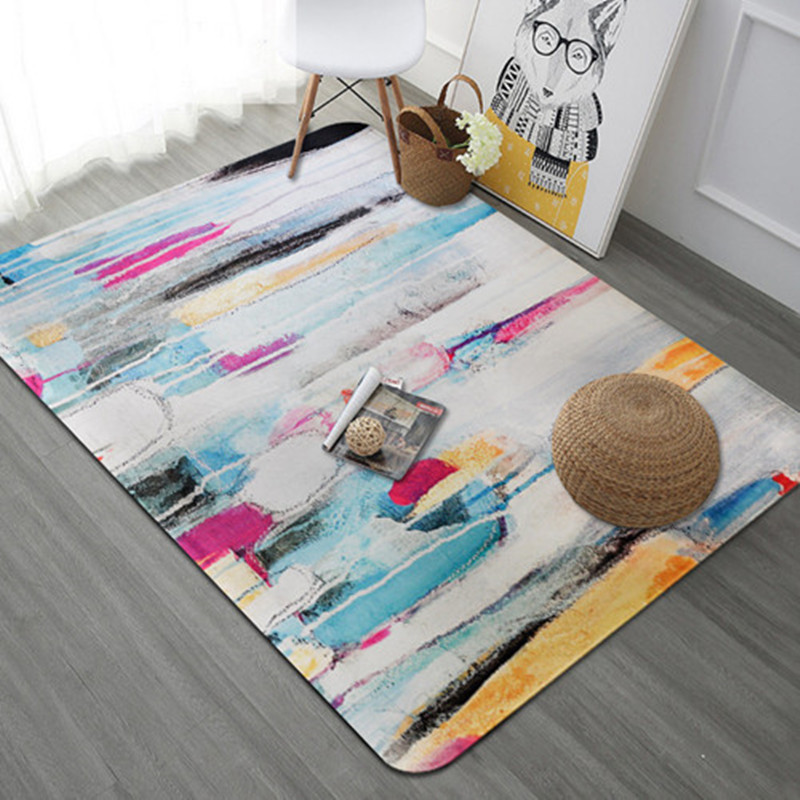 New Creativity Graffiti rug Coffee Table Study large Area Carpets For Living Room Bedroom Carpet Home Decor Soft tapete alfombra