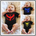 new fashion Summer Infant Clothing Pokemon Go Romper baby Boy girl Jumpsuit Newborn Clothes For Baby Toddler Clothes
