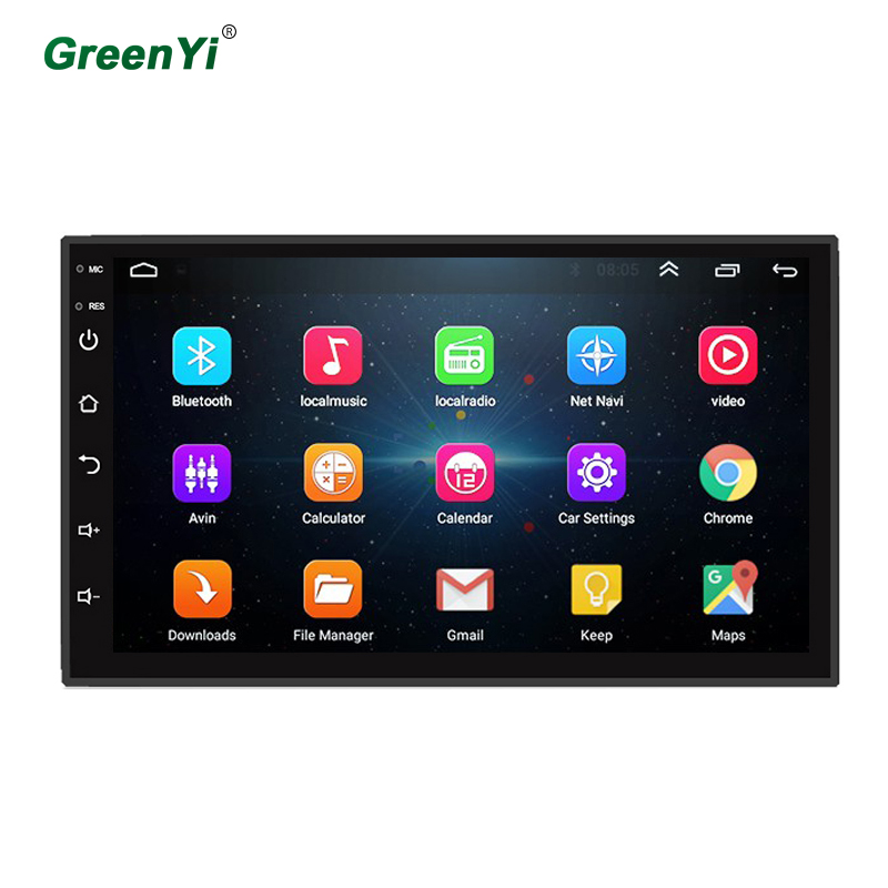 GreenYi HD7 inch 1024 600 Android Android 9 1 Headunit Stereo Radio Bluetooth GPS WiFi Car