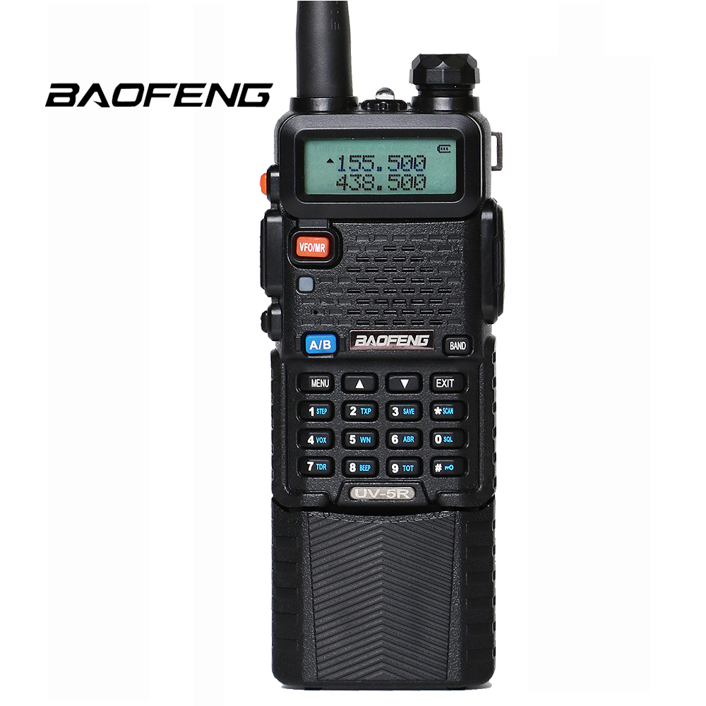 Baofeng UV-5R 3800 mah Li-ion Batterie Talkie Walkie UHF 400-520 mhz VHF 136-174 mhz 5 w double Bande UV5R Deux Way Radio