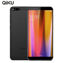 Qiku 360 N7 мобильного телефона 5,99 дюйма 6 ГБ Оперативная память 64 GB/128 GB Snapdragon 660 Android 8,1 Dual Камера 5030 mAh отпечатков пальцев Смартфон