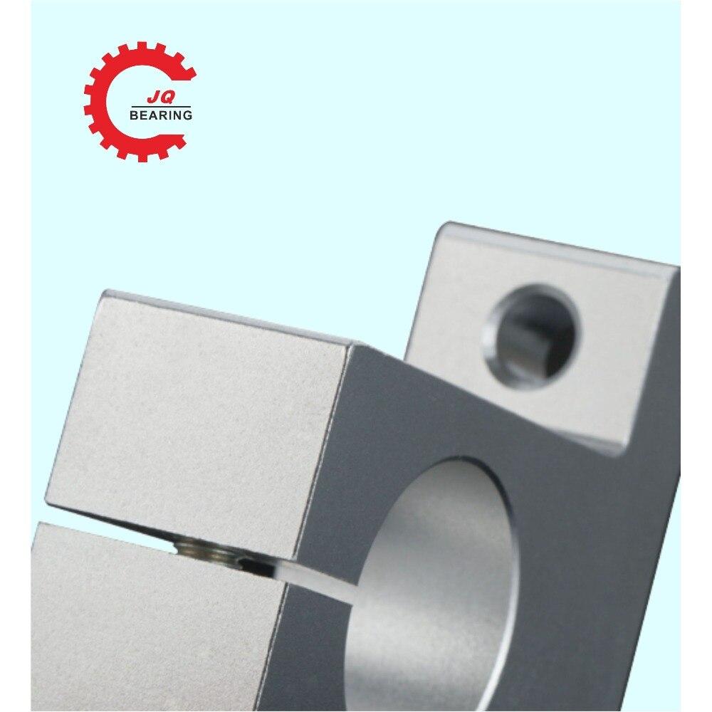 Купить с кэшбэком 4pcs/lot SK8 SK10 SK12 SK16 SK20  8mm linear bearing rail shaft support XYZ Table CNC Router SH8A 3D printer Part