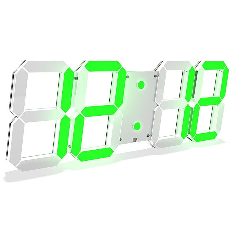 Remise seulement aujourd'hui design moderne précipité Quartz horloges mode montres miroir autocollant bricolage living room3d réel grandes horloges murales