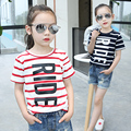 4-14T2016 Summer New Streak Children T Shirts Boys Kids T-Shirt Designs Teen Clothing For Boys Baby Clothing Girls T-Shirts
