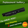 JIGU Laptop battery for Asus K53 Series K53BY K53J K53JE K53JN K53S K53SD K53SN K53TA K43JS K43SC K43SJ K43SV