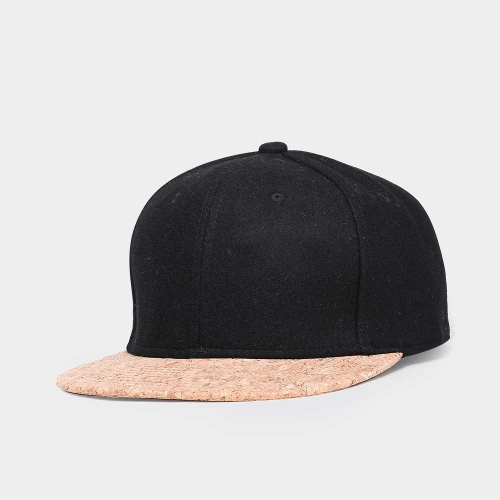 Marki NUZADA jesień korek moda proste mężczyźni kobiety kapelusz czapki czapka z daszkiem Snapback proste klasyczne czapki zimowa ciepła czapka