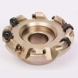 Więc SF45-8 16-D100-08-32R wymienna głowica frezująca do cięcia z płyta węglikowa cnc ONMU050505-TN P6215 SNMU150515-T P6215