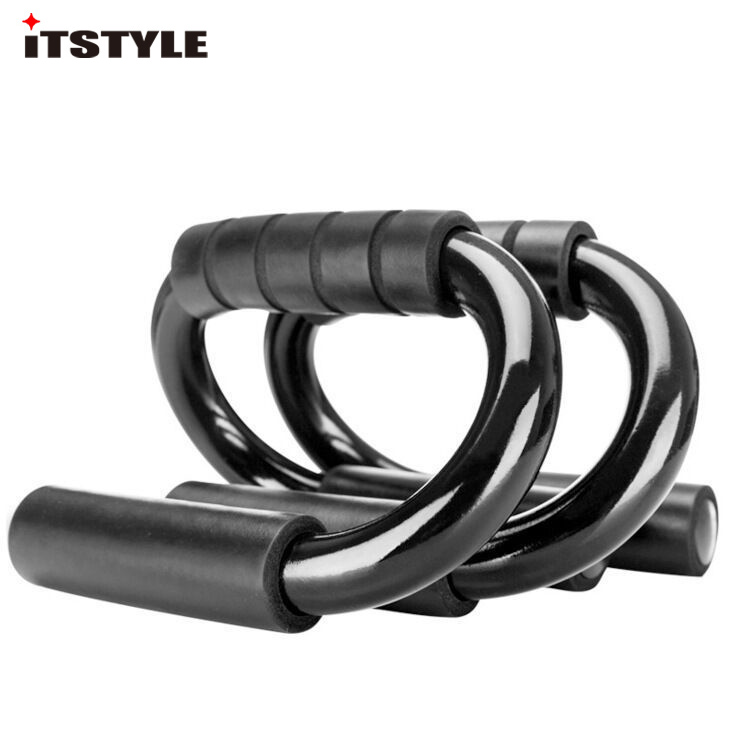 ITSTYLE S-shaped Push Ups Racks Chest Muscle Expansion Trainer Holder Push-up Frame Stand