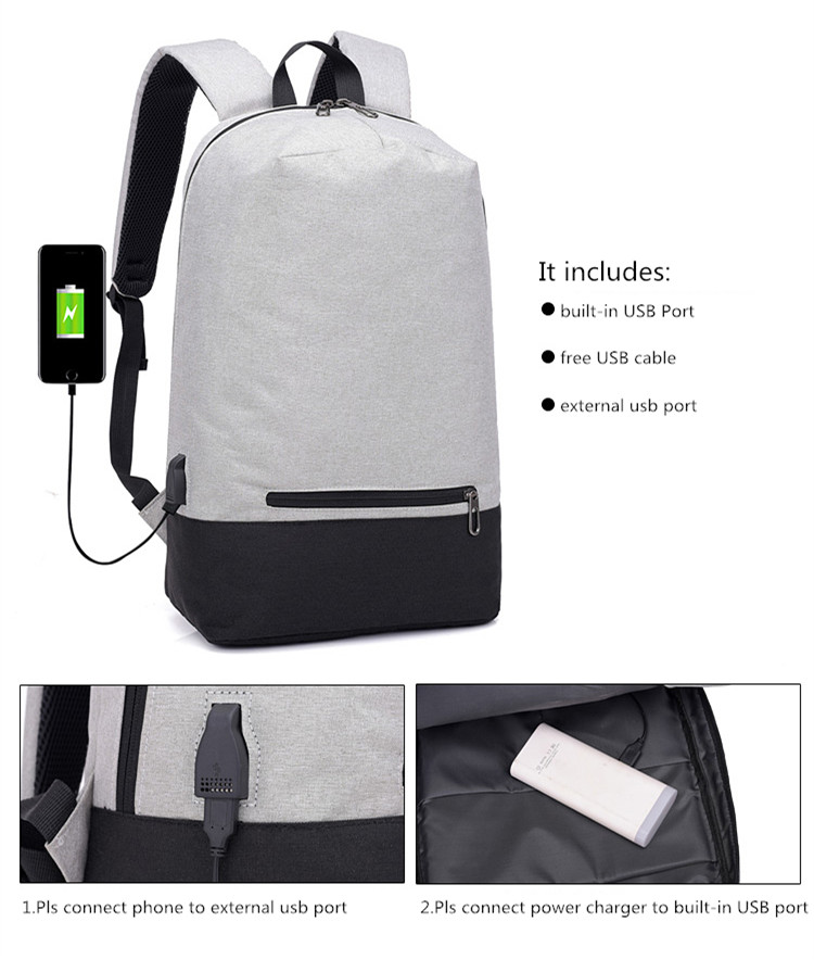 b6cdfe78764 ... Male Smart Business Casual Backpack Luggage Travel Bags Anti  pick up  4f80f 4e775 FengDong men smart waterproof backpack usb charge minimalist ...