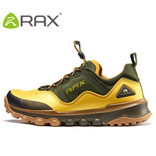 Rax 2016 spring summer hiking shoes mens outdoor sports shoes man breathable antiskid trekking sneakers size 39-44