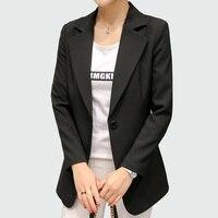 Wine Red Black Women Blazers And Jackets 2018 New Spring Autumn Fashion Single Button Blazer Femenino Ladies Blazer Female 2