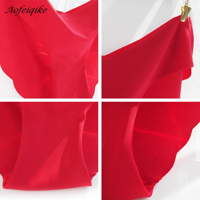 Seamless Ultra-thin Underwear G String Women's Panties Intimates