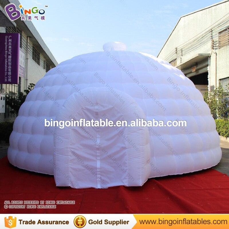 7b3d5c09704e Venta directa de fábrica 6X6X3,5 m Domo inflable iglú carpa para eventos al  aire libre de alta ...