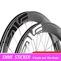 12 pçs logotipo 700c estrada bicicleta rodado de carbono adesivo 30/38/40/50/55/60/80/88mm marca rodas da bicicleta estrada adesivo decalque