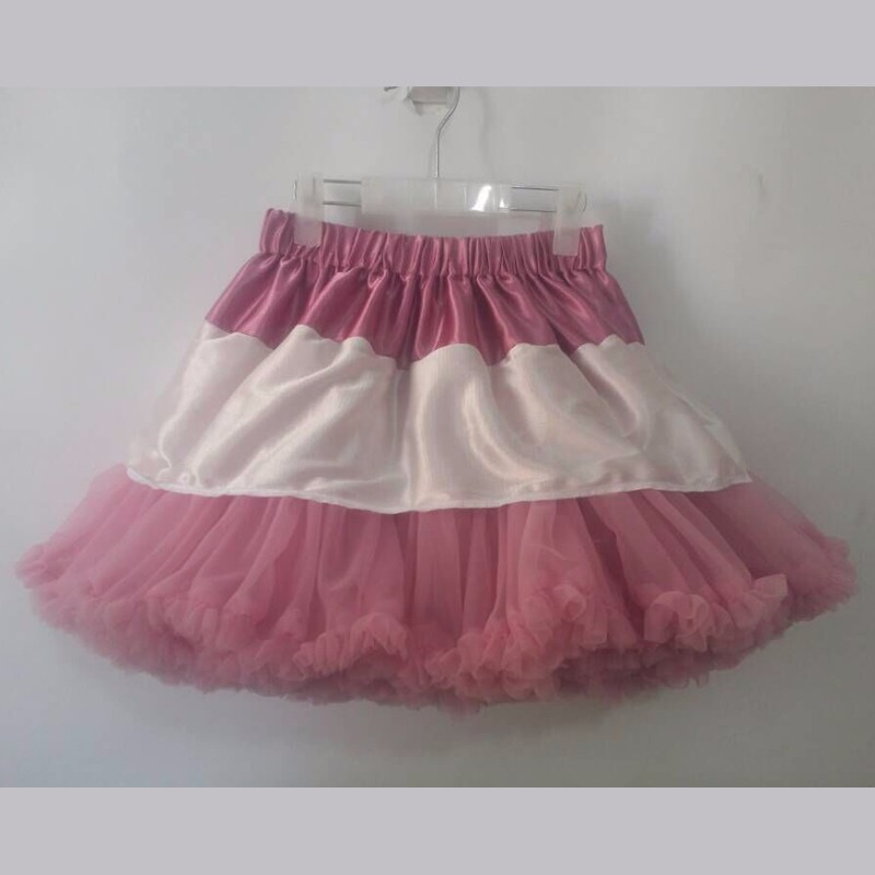 Горячая распродажа пушистая шифоновая пачка для маленькой девочки юбки для девочек юбка принцессы пачка от 2 до 10 лет