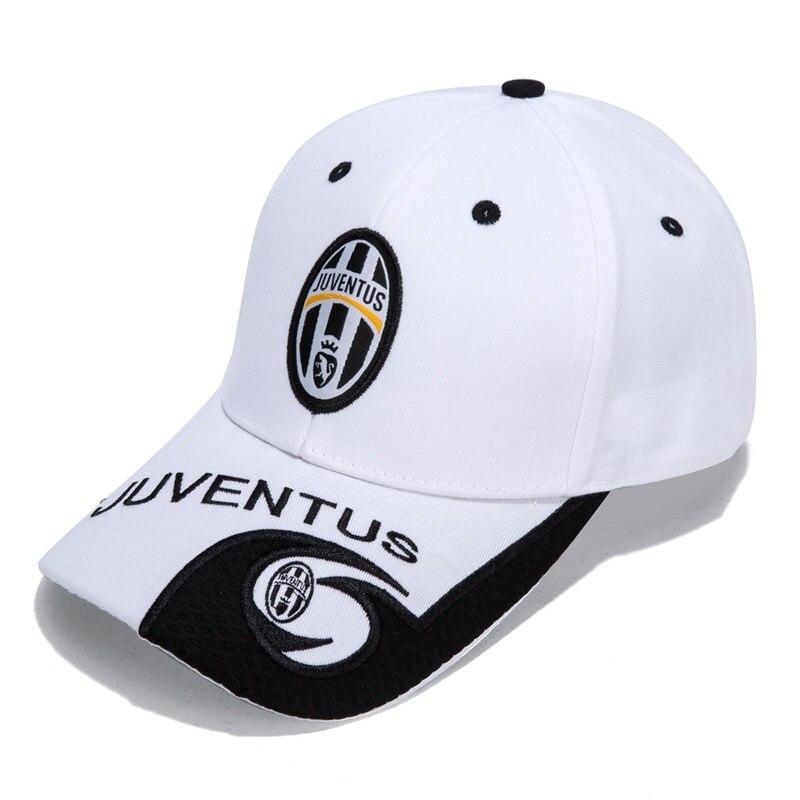 Juventus(Juve) Wite   Baseball     Cap   Soccer Team Logo   Cap   New Embroidered Adjustable   Baseball     Cap