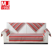 Cotton Sofa Cover European Sets Nonslip Modern Combination Covers Multi-function Lace Stripes 1Piece