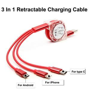 3 In 1 Retractable Charging Ca