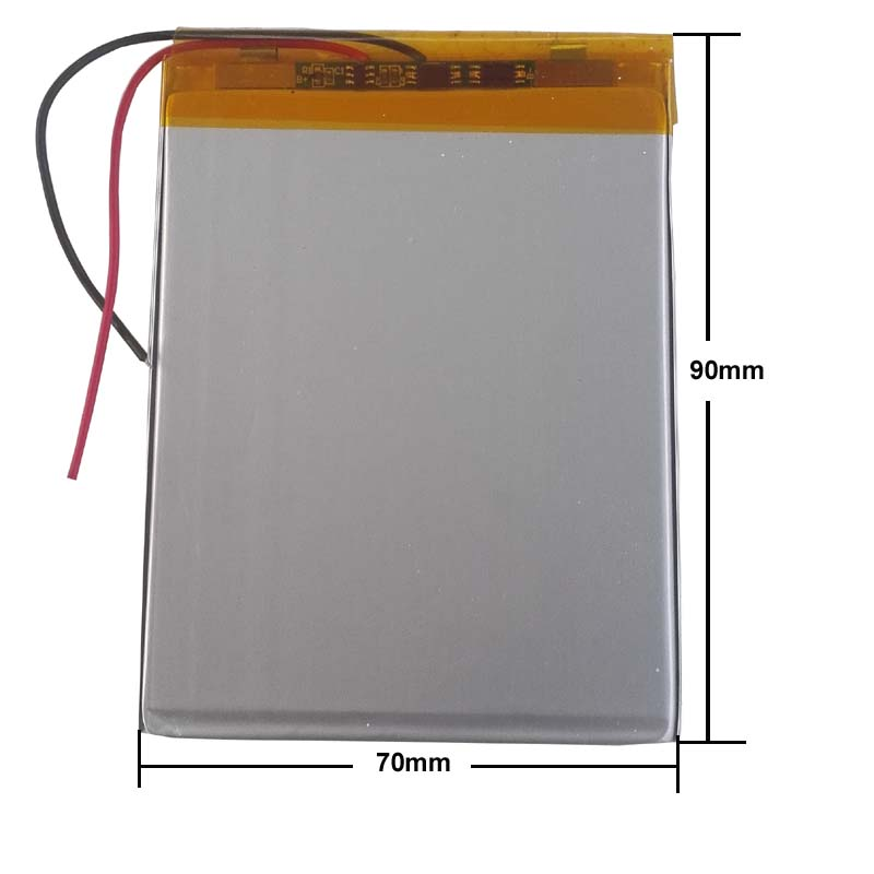 3500mah Li-ion 307090 Or 307095 407095 357095 357090 407090 7,8,9 Inch Tablet PC ICOO Bateria 3.7V Polymer Lithiumion Battery