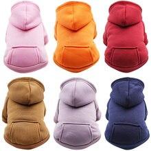 Sweat à capuche chaud pour animaux de compagnie, vêtements pour chats, automne, hiver, manteau, chiot, 8Y45