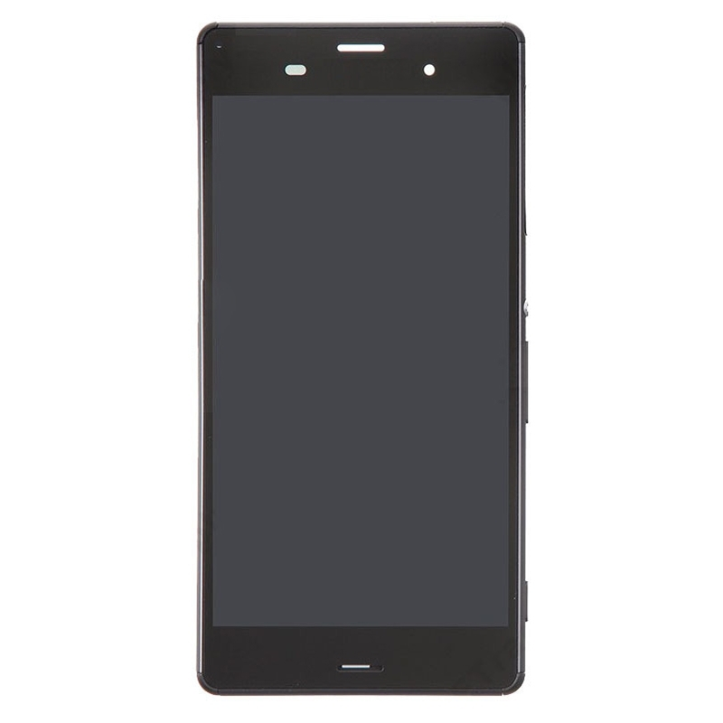 High Quality LCD Screen and Digitizer Full Assembly Lcd Replacement Glass with Frame For Sony Xperia Z3 / / D6633 / L55U