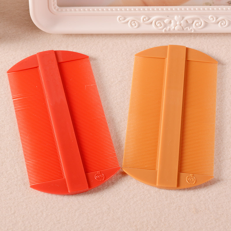 New High Quality Plastic Double Sided Nit Fine Tooth Combs For Head Lice Dectection Comb Kids Pet Flea Wholesale