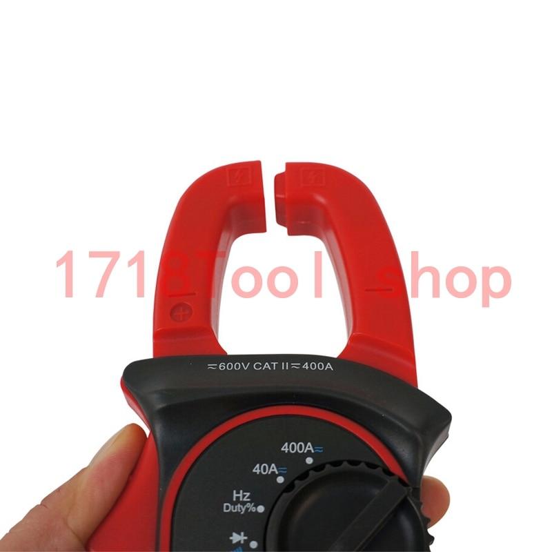 Digitális bilincsmérő UNI-T UT204A áramszorító AC / DC áram - Mérőműszerek - Fénykép 3