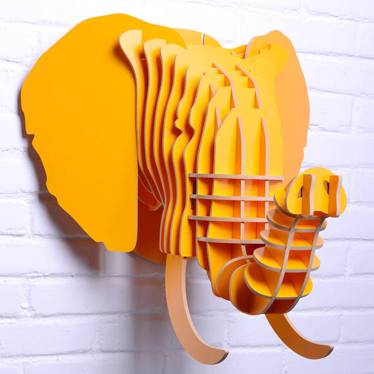 ᓂelephant head for wall decor,wooden elephant decoration,carved ...