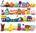 25pcs/lot 2-3cm Send Random Shop kins Toys Rubber Material Action Toy Figures Toy Boy And Girls Change Shop kins Season 1 2